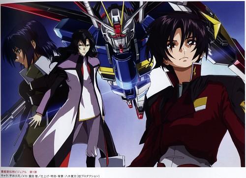 Hisashi Hirai, Sunrise (Studio), Mobile Suit Gundam SEED Destiny, Shinn Asuka, Athrun Zala