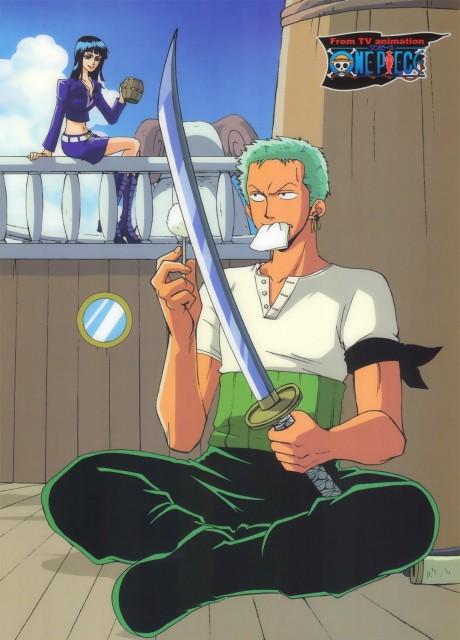 Eiichiro Oda, One Piece, Roronoa Zoro, Nico Robin