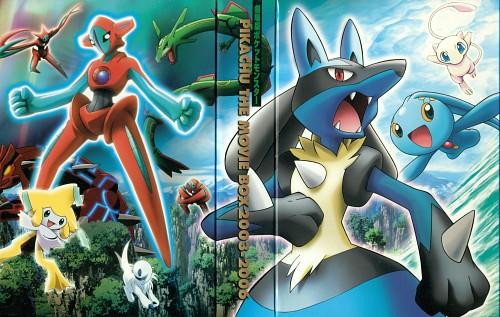 OLM Digital Inc, Nintendo, Pokémon, Absol, Mew