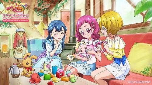 Toei Animation, HUGtto! Precure, Hug-tan, Saaya Yakushiji, Hariham Harry