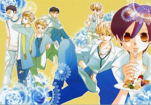 Hatori Bisco, BONES, Ouran High School Host Club, Takashi Morinozuka, Mitsukuni Haninozuka