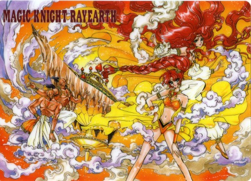 CLAMP, TMS Entertainment, Magic Knight Rayearth, Magic Knight Rayearth 2 Illustrations Collection, Tarta
