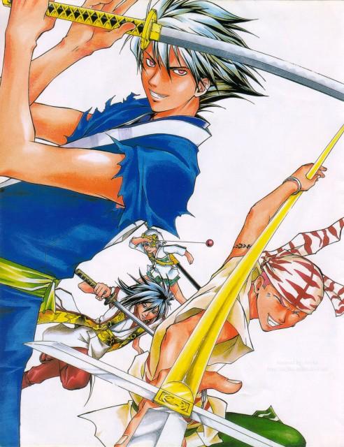 Akimine Kamijyo, Studio DEEN, Samurai Deeper Kyo, Sasuke Sarutobi (SDK), Benitora