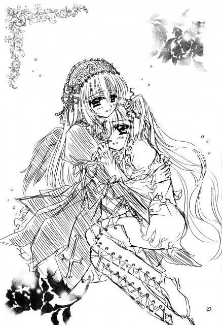 Rozen Maiden, Suigintou, Kirakishou, Doujinshi