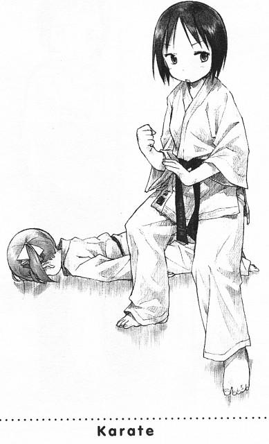 Barasui, Ichigo Mashimaro, Miu Matsuoka, Nobue Itoh