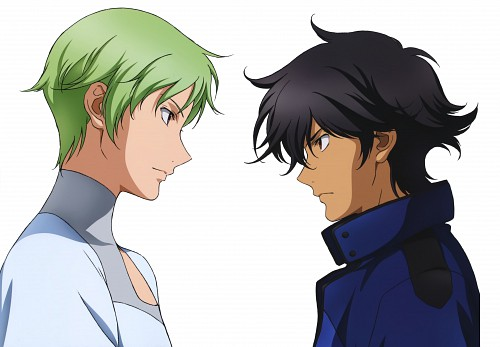 Sunrise (Studio), Mobile Suit Gundam 00, Mobile Suit Gundam 00 Illustrations Innovation, Ribbons Almark, Setsuna F. Seiei