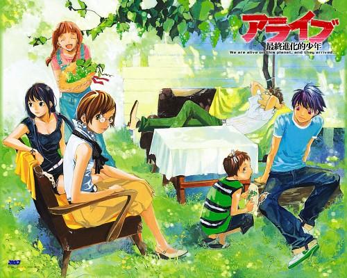 Toka Adachi, Alive: The Final Evolution, Nami Kusunoki, Taisuke Kano, Kyouko Amamiya