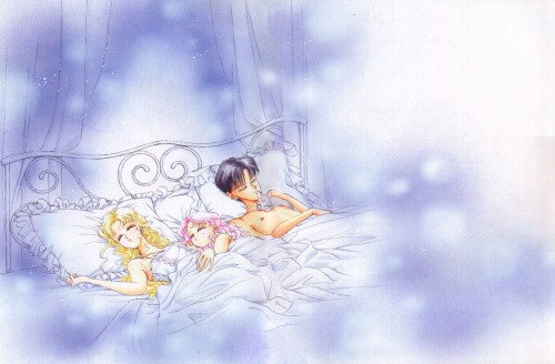 Naoko Takeuchi, Bishoujo Senshi Sailor Moon, BSSM Original Picture Collection Vol. IV, Diana, Chibi Usa
