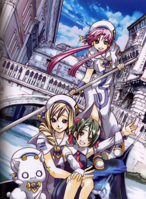 Kozue Amano, Aria, Cielo – Kozue Amano Illustration Works 3, Ai (Aria), Alicia Florence