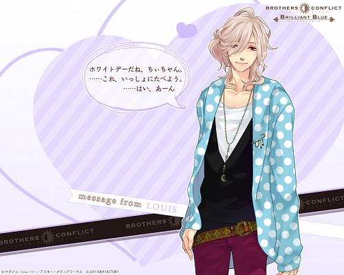 Udajo, Idea Factory, Brothers Conflict, Louis Asahina, Official Wallpaper