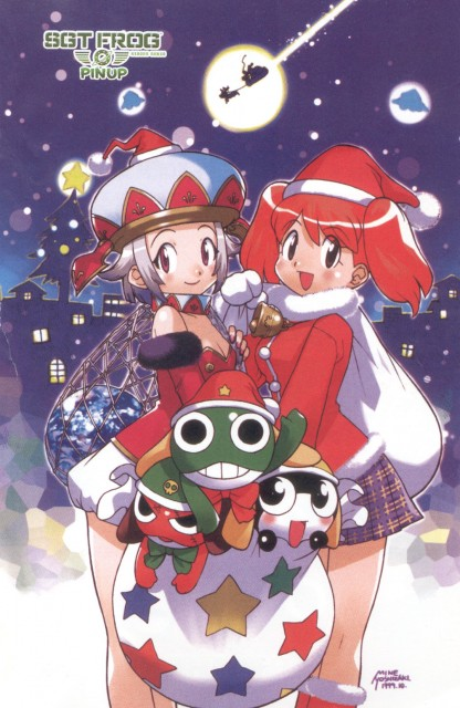 Mine Yoshizaki, Keroro Gunsou, Natsumi Hinata, Giroro, Tamama