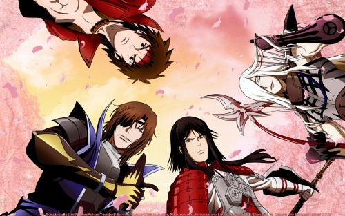 Capcom, Sengoku Basara, Mitsuhide Akechi, Masamune Date, Yukimura Sanada Wallpaper