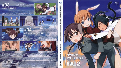 Anime International Company, Gonzo, Strike Witches, Francesca Lucchini, Charlotte E. Yeager