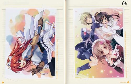 Carnelian, Boku wa Tomodachi ga Sukunai, Seiken no Blacksmith, Rika Shiguma, Yukimura Kusunoki