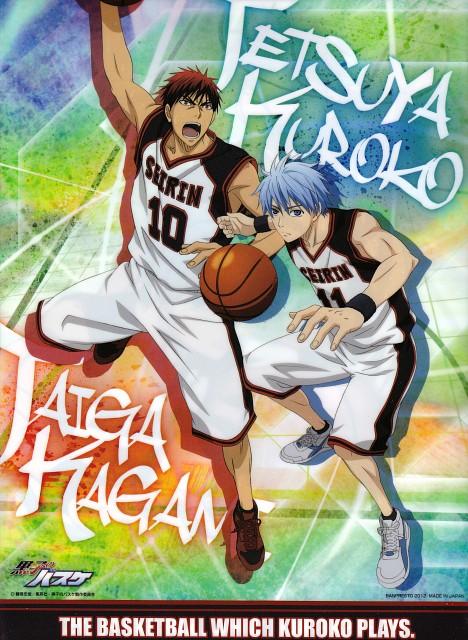 Tadatoshi Fujimaki, Production I.G, Kuroko no Basket, Taiga Kagami, Tetsuya Kuroko