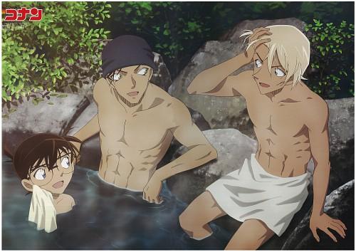 Gosho Aoyama, TMS Entertainment, Detective Conan, Rei Furuya, Shuichi Akai