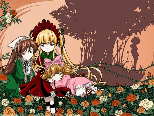 Peach-Pit, Studio Nomad, Rozen Maiden, Jun Sakurada, Suiseiseki Wallpaper