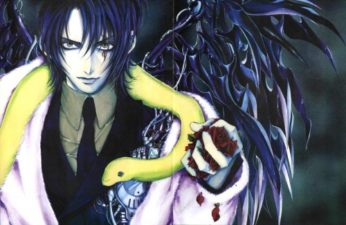 Kaori Yuki, Angel Sanctuary, Lucifer (Angel Sanctuary)