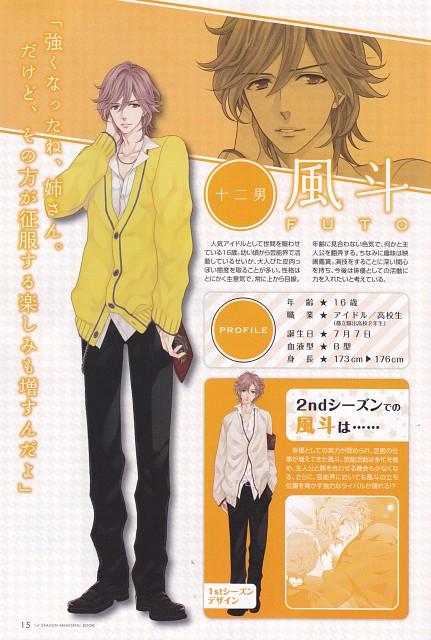 Udajo, Idea Factory, Brothers Conflict, Futo Asahina, Character Sheet