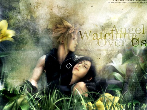 Square Enix, Final Fantasy VII: Advent Children, Cloud Strife, Tifa Lockhart Wallpaper