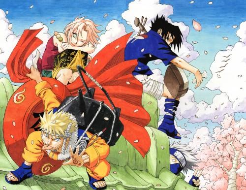 Masashi Kishimoto, Naruto, Uzumaki (Artbook), Kakashi Hatake, Sasuke Uchiha