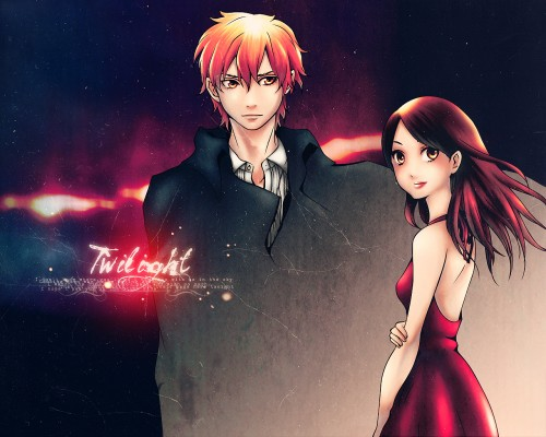 Ryuuji Gotsubo, Twilight, Edward Cullen, Bella Swan, Colorizations Wallpaper