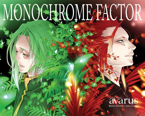 Kaili Sorano, A.C.G.T., Monochrome Factor, Homurabi, Shisui