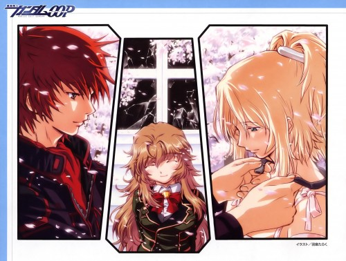 Taraku Uon, Mobile Suit Gundam 00P, Marlene Vlady, Ruido Resonance, Chall Acustica