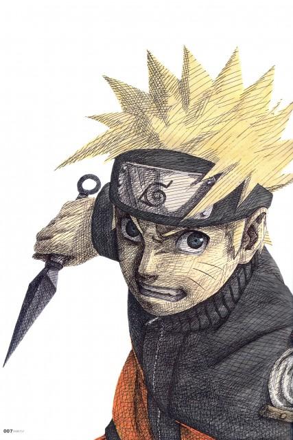 Masashi Kishimoto, Naruto, NARUTO Illustrations, Naruto Uzumaki