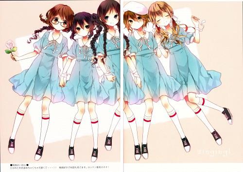Naoto (Mangaka), K-On!, Assort2, Mio Akiyama, Ritsu Tainaka