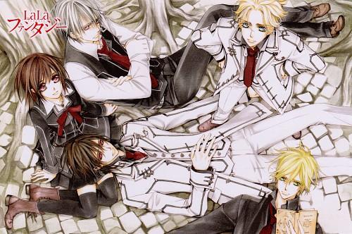 Matsuri Hino, Vampire Knight, Hanabusa Aidou, Kaname Kuran, Zero Kiryuu