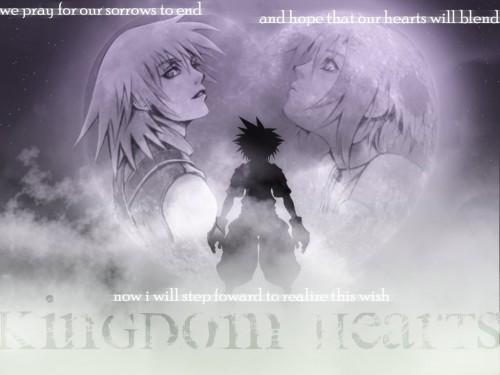Square Enix, Kingdom Hearts, Sora, Kairi, Riku Wallpaper