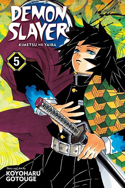Koyoharu Gotouge, Kimetsu no Yaiba, Giyuu Tomioka, Manga Cover