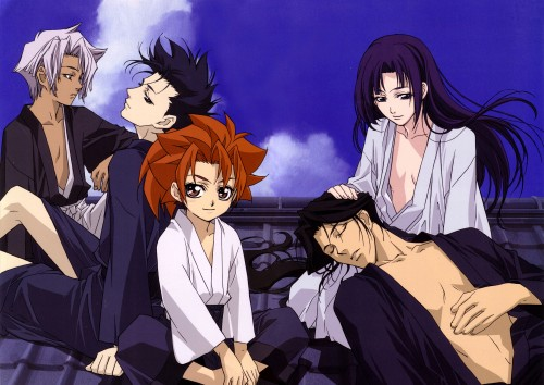 Nanae Chrono, Atsuko Nakajima, Peacemaker Kurogane, Toshizou Hijikata (Peacemaker Kurogane), Suzu Kitamura