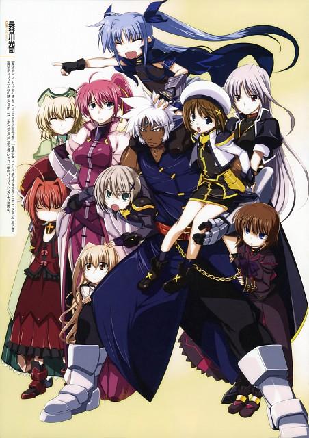 Kouji Hasegawa, Mahou Shoujo Lyrical Nanoha, MSLN A's Portable - The Gears Of Destiny Official Visual Book, Reinforce, Zafira