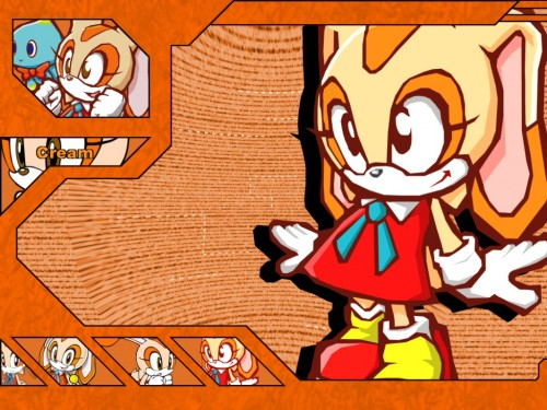 SNK, SONIC Series, Chao, Cream the Rabbit Wallpaper