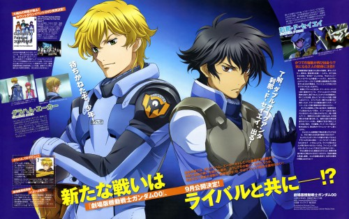 Michinori Chiba, Sunrise (Studio), Mobile Suit Gundam 00, Graham Aker, Setsuna F. Seiei