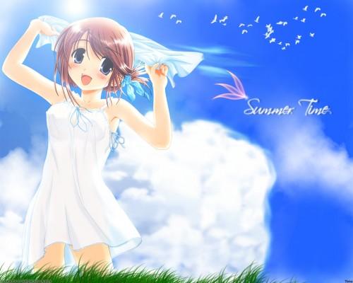AQUAPLUS, To Heart 2, Manaka Komaki Wallpaper