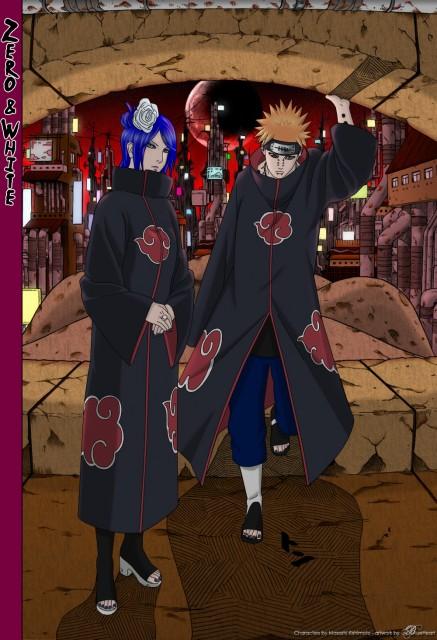Studio Pierrot, Naruto, Konan , Yahiko, Nagato