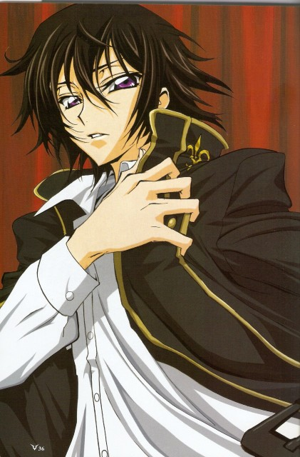 Takahiro Kimura, Sunrise (Studio), Lelouch of the Rebellion, Lelouch Lamperouge