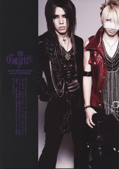 Aoi (J-Pop Idol), Reita, Gazette