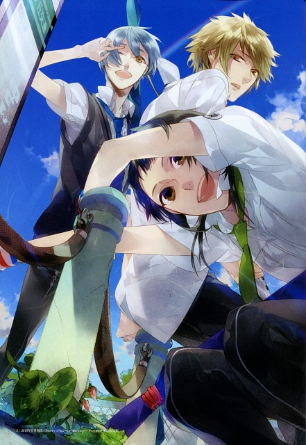 Kazuaki, Starry Sky Official Guide Complete Edition ~Summer Stories~, Starry Sky, Homare Kanakubo, Azusa Kinose