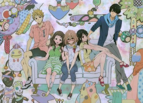 Kyoto Animation, Kyoukai no Kanata, Hiroomi Nase, Mirai Kuriyama, Akihito Kanbara