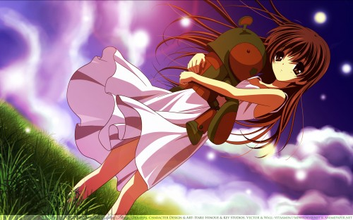 Kyoto Animation, Clannad, Girl From the Illusionary World, Garbage Doll Wallpaper