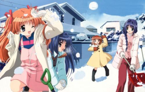 Key (Studio), Kanon, Nayuki Minase, Ayu Tsukimiya, Makoto Sawatari