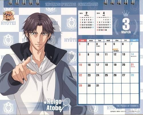 Takeshi Konomi, Production I.G, Prince of Tennis, Keigo Atobe, Calendar
