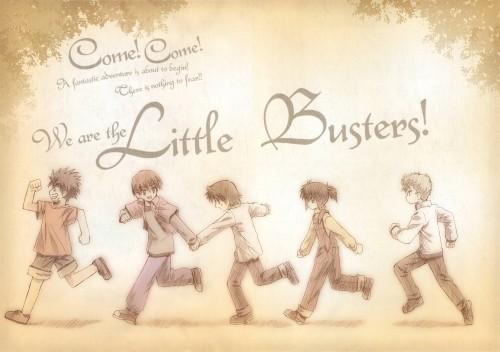 Little Busters, Kengo Miyazawa, Riki Naoe, Masato Inohara, Kyousuke Natsume