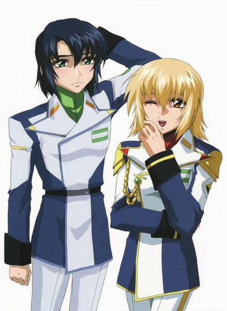 Hisashi Hirai, Sunrise (Studio), Mobile Suit Gundam SEED Destiny, Mobile Suit Gundam Seed & Seed Destiny Pinup Collection, Cagalli Yula Athha