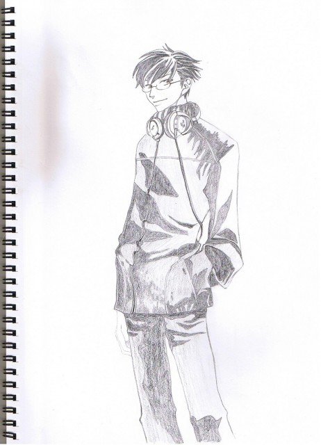 Hatori Bisco, BONES, Ouran High School Host Club, Kyoya Ootori, Member Art