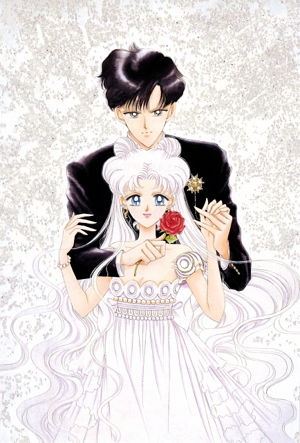 Naoko Takeuchi, Bishoujo Senshi Sailor Moon, BSSM Original Picture Collection Vol. IV, Princess Serenity, Prince Endymion